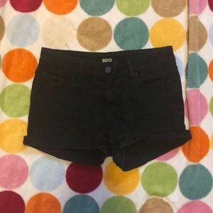 BDG black shorts